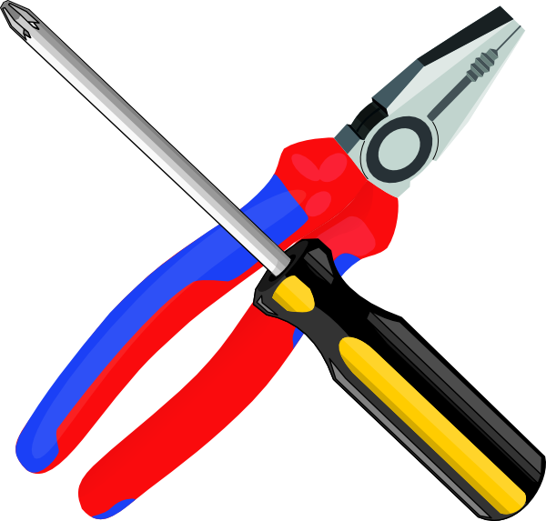 Free Clip Art Construction Tools