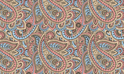 Free Paisley Pattern Designs