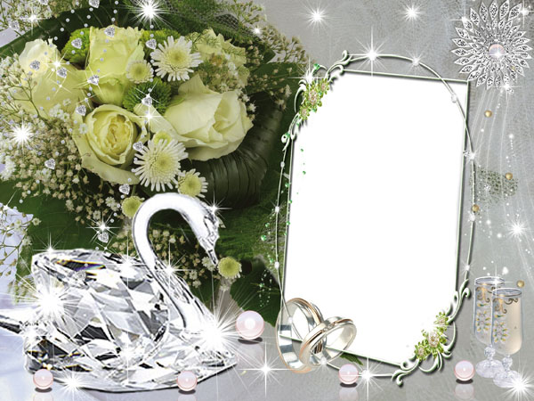 Free PSD Wedding Frames for Photoshop