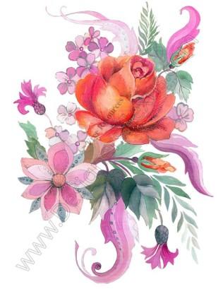 Free Rose Clip Art Flowers Bouquet