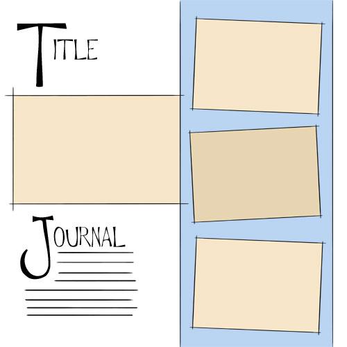 Free Scrapbook Layout Templates