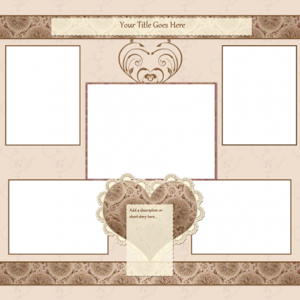 12 Free Design Templates For Scrapbooking Images