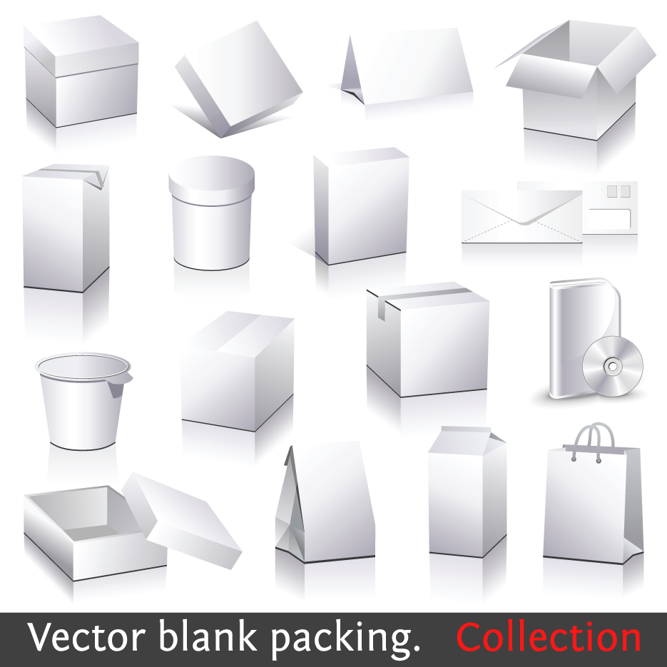 11 for box templates vector images vector packaging box for Box templates vector