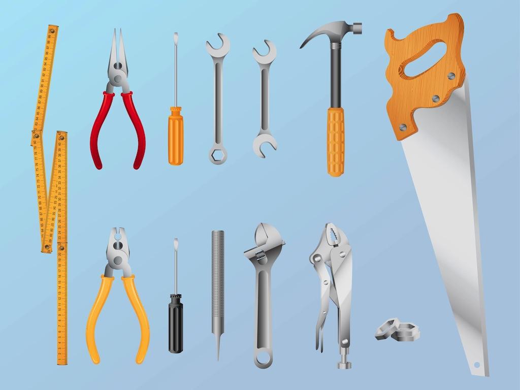 16 Tool Vector Art Images Tools Vector Free Tools