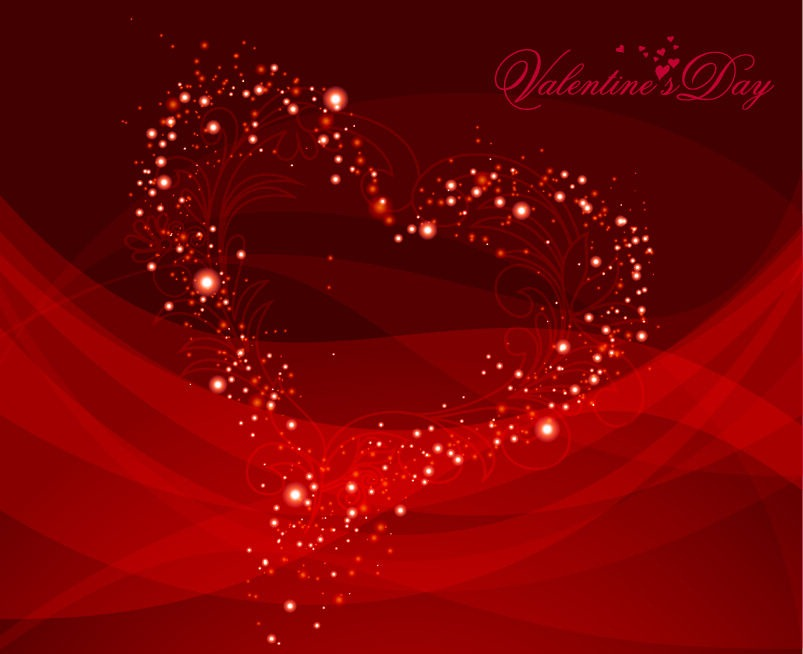 Free Vector Valentine Background