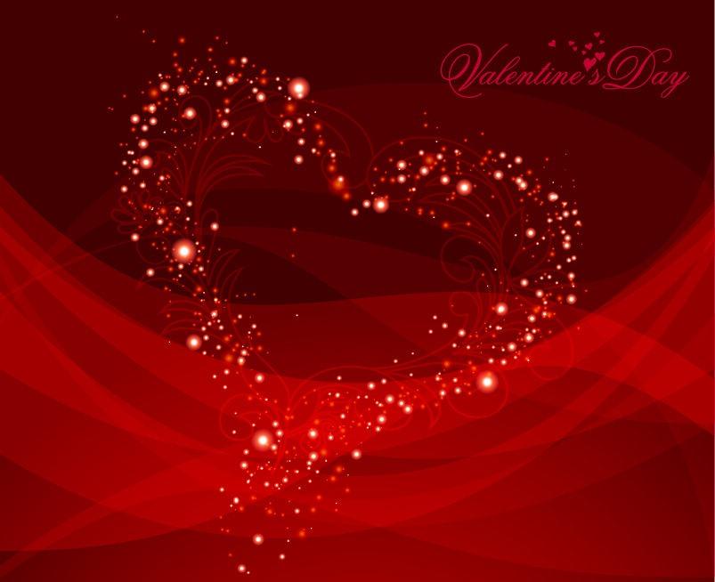 Free Vector Valentine Background
