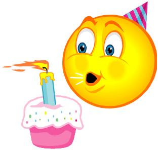14 Funny Smiley Emoticons Birthday Images - Happy Birthday ...