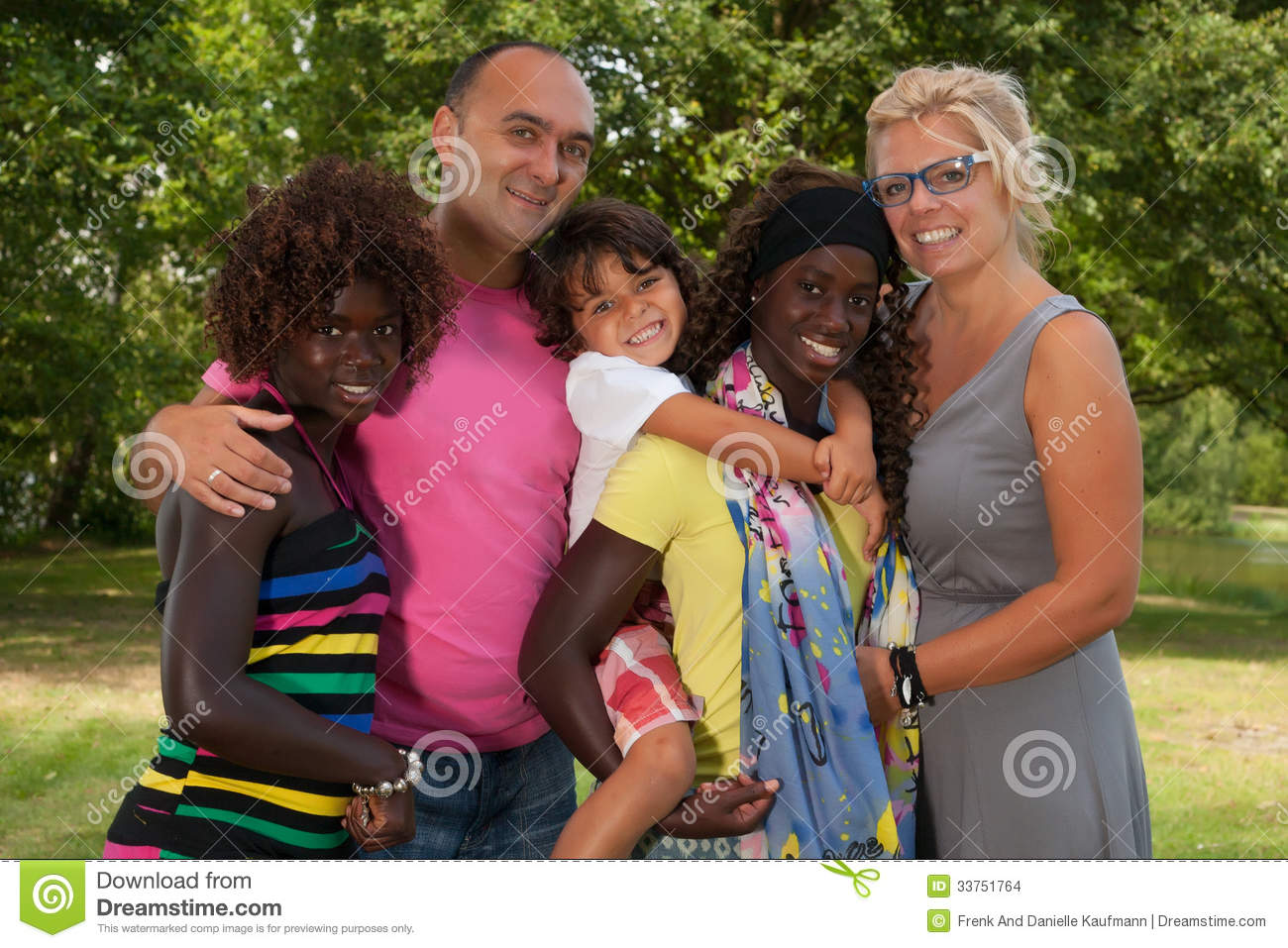 12 Stock Photos Multicultural Families Images
