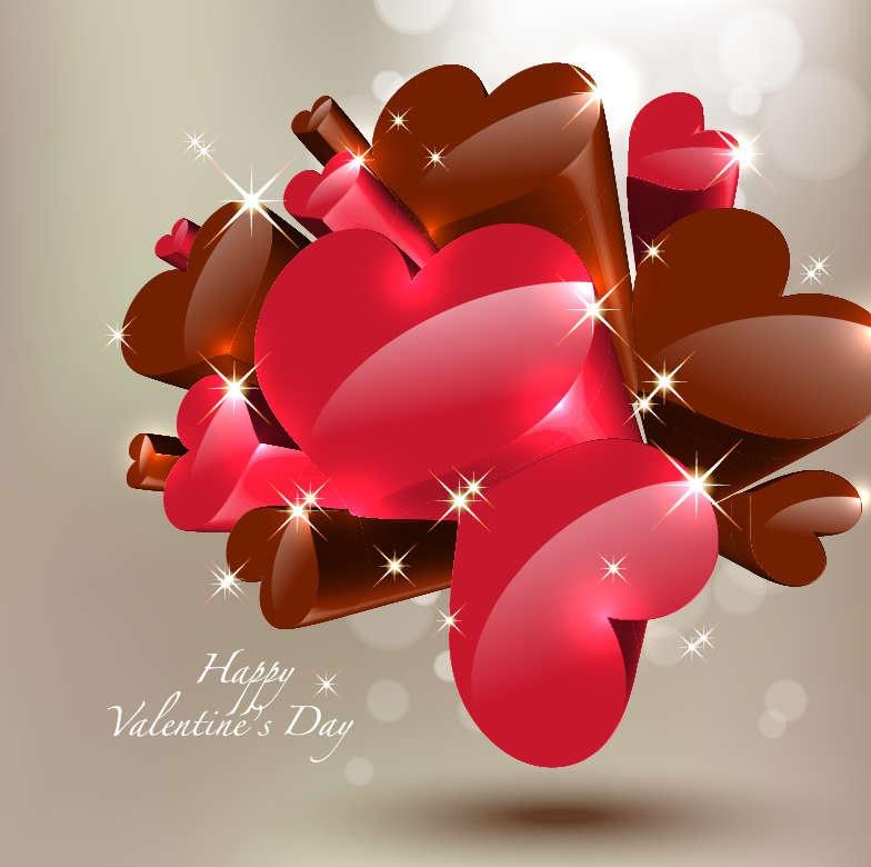 Happy Valentine's Day Vector Free