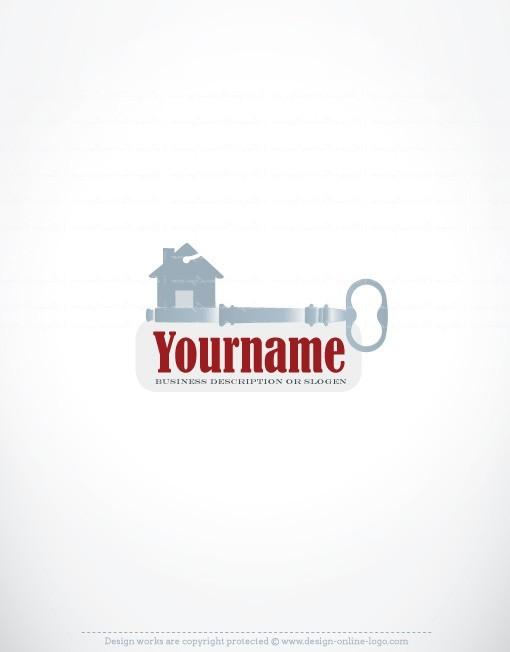 House Keys Real Estate Logos