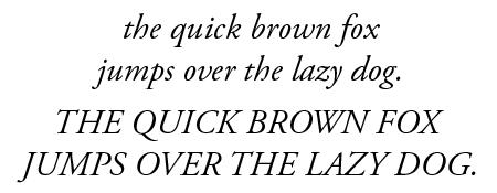 12 Garamond Font Italic Images