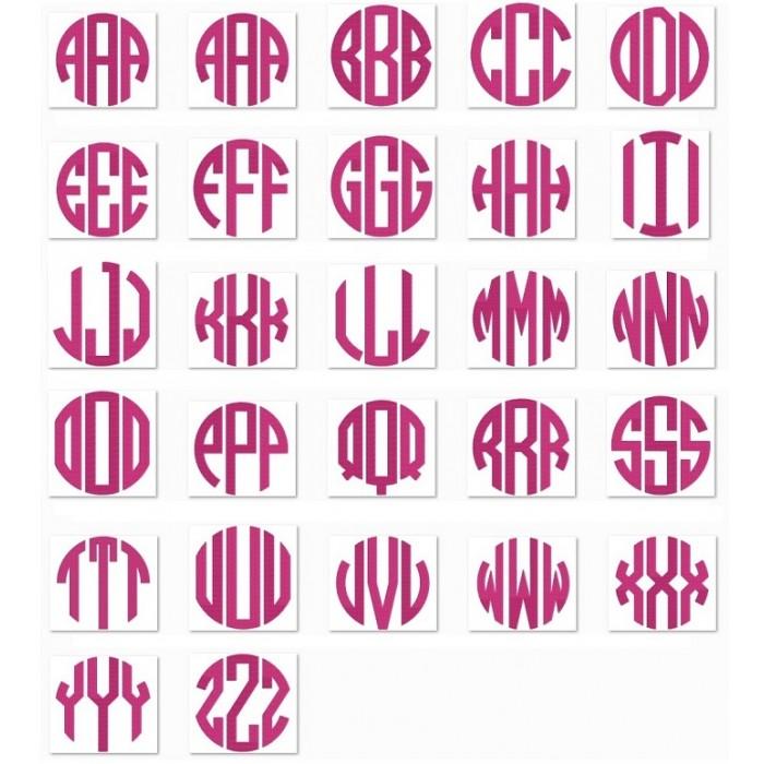 11 circle monogram font images