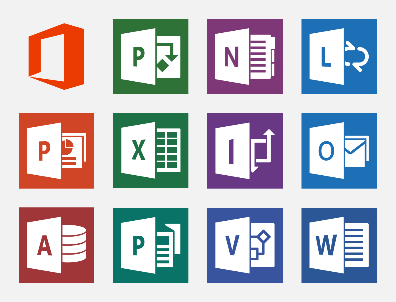 15 New Microsoft Office Icon Library Images
