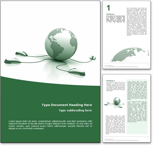 Microsoft Word Cover Page Design Templates
