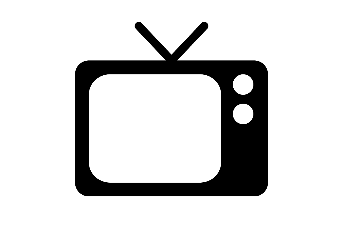 9 TV PNG Icon Set Images
