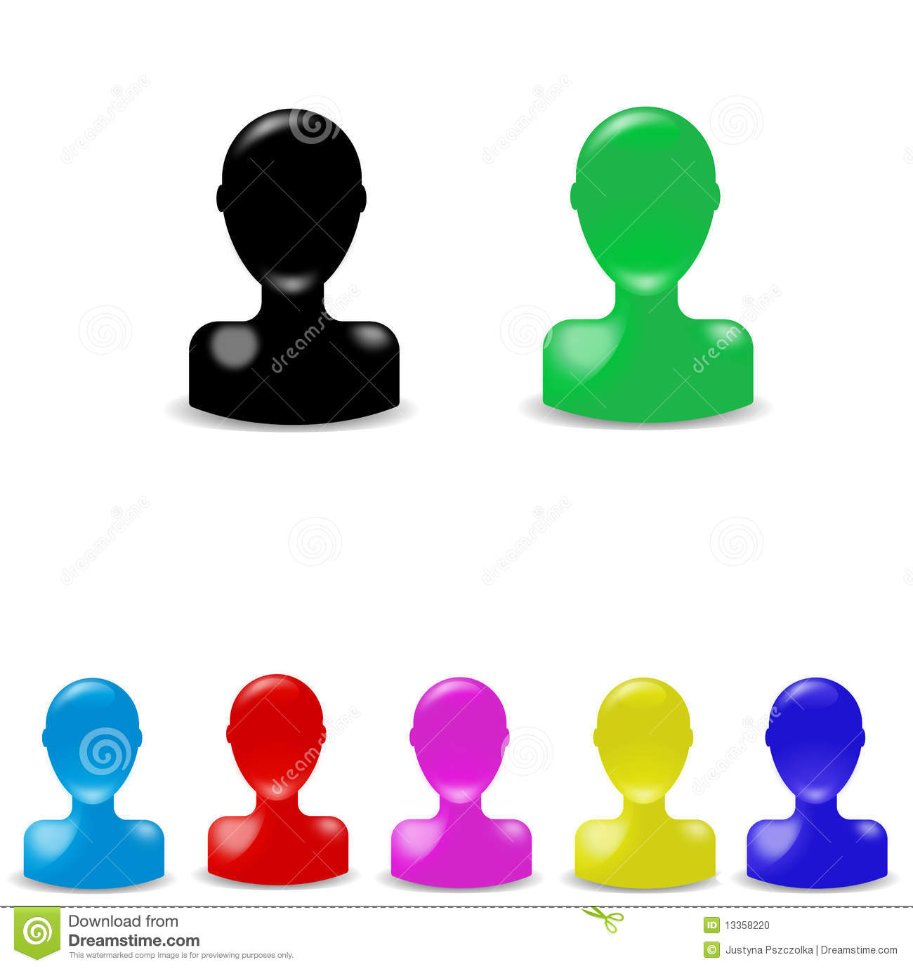 Person Icon Color