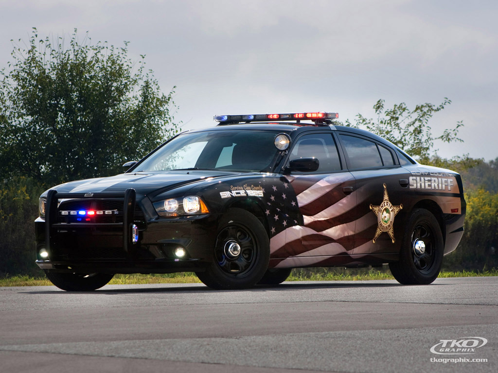 Police Car Graphics Decals