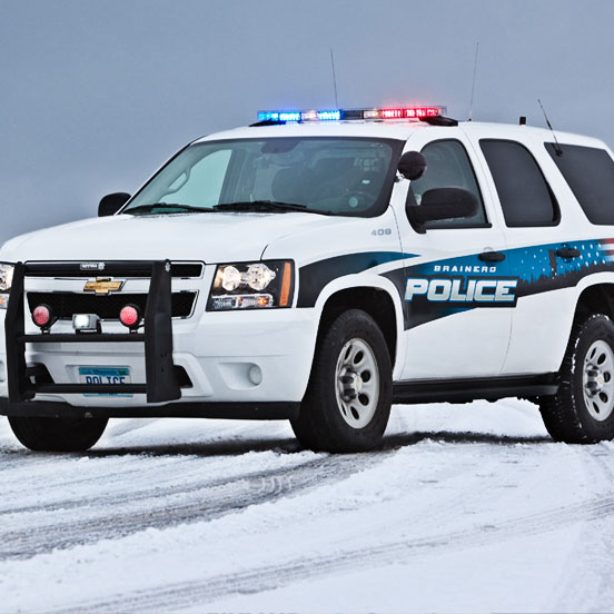 Police Department Vehicle Graphics
