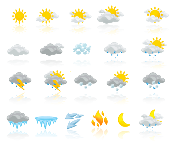 Printable Weather Icons