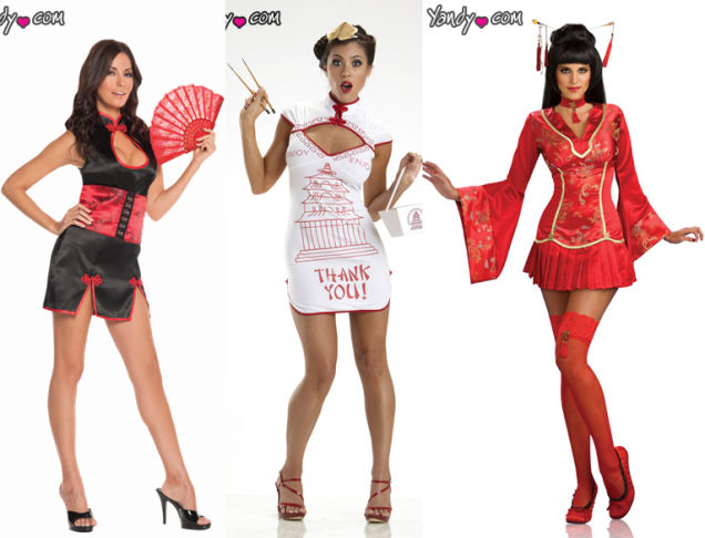 Racist Asian Halloween Costumes