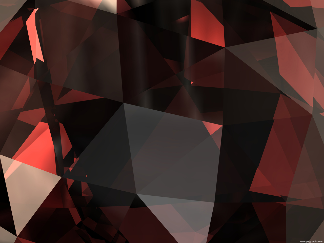 Red and Black Diamond Graphics