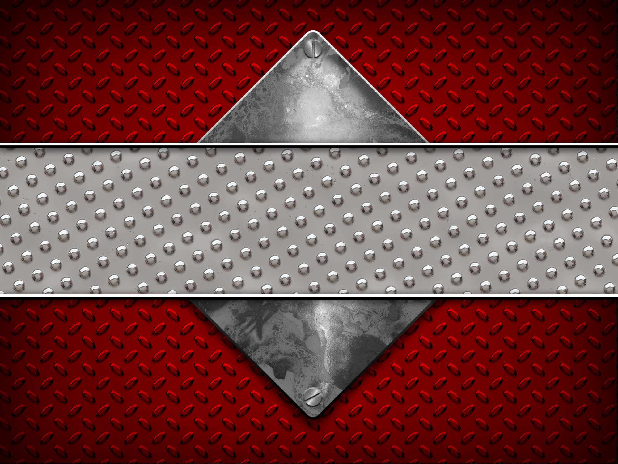 Red Diamond Plate Background Free