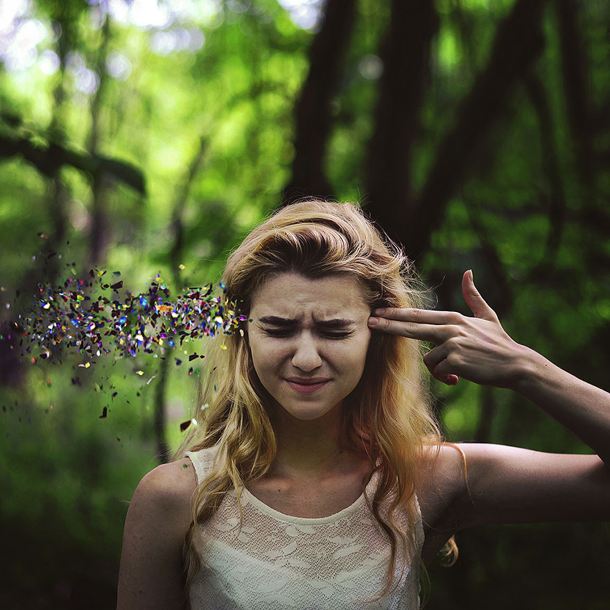 Self Portraits by Rachel Baran