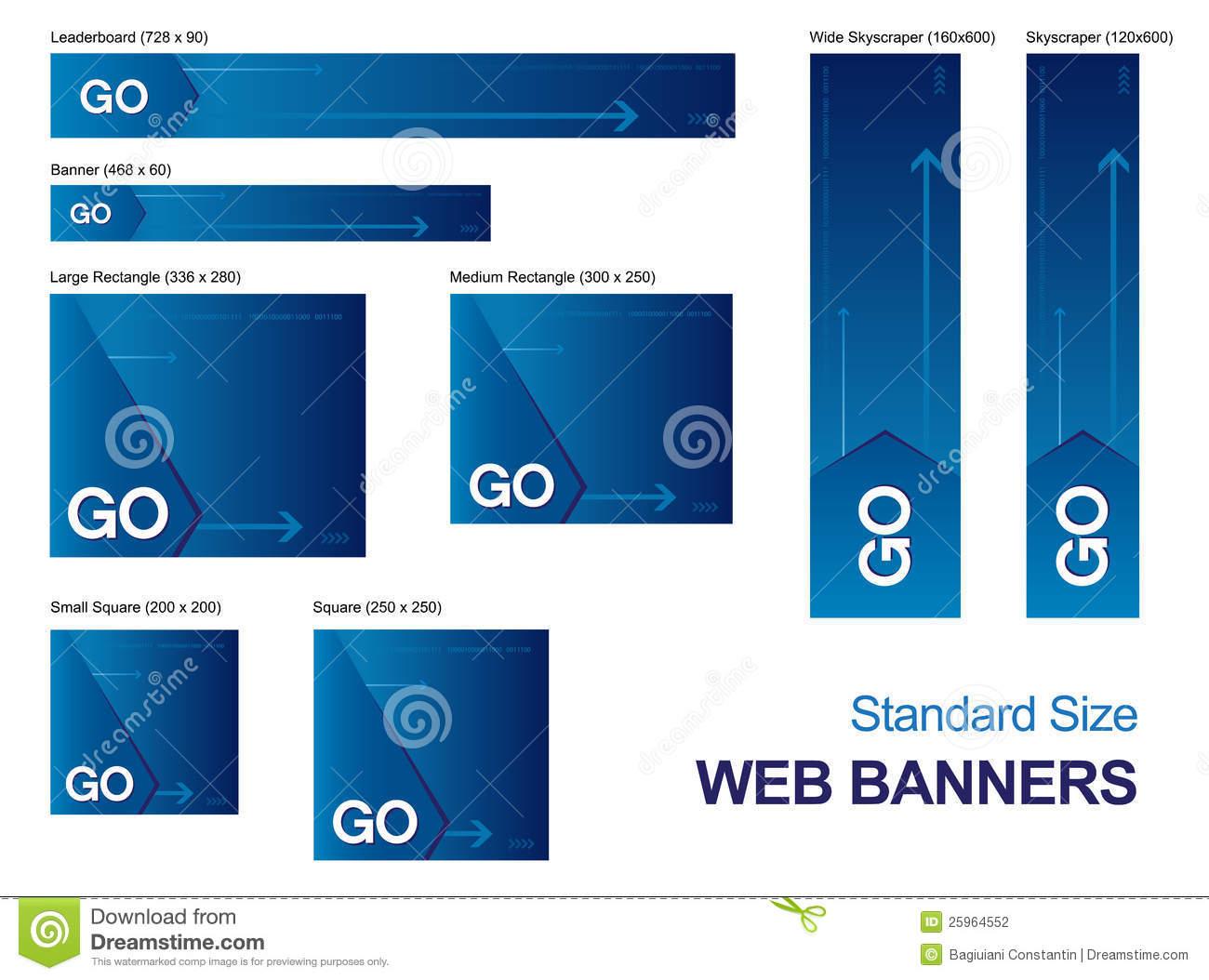 web banner advertising sizes 28 images description standard web banner ad sizessvg best