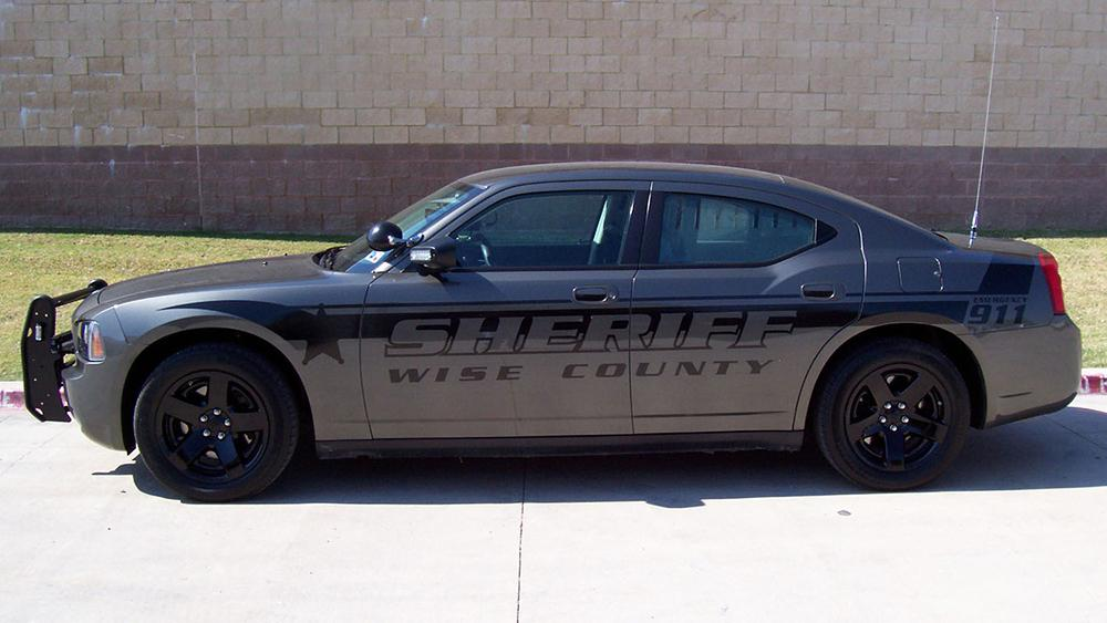 Stealth Police Car Graphics