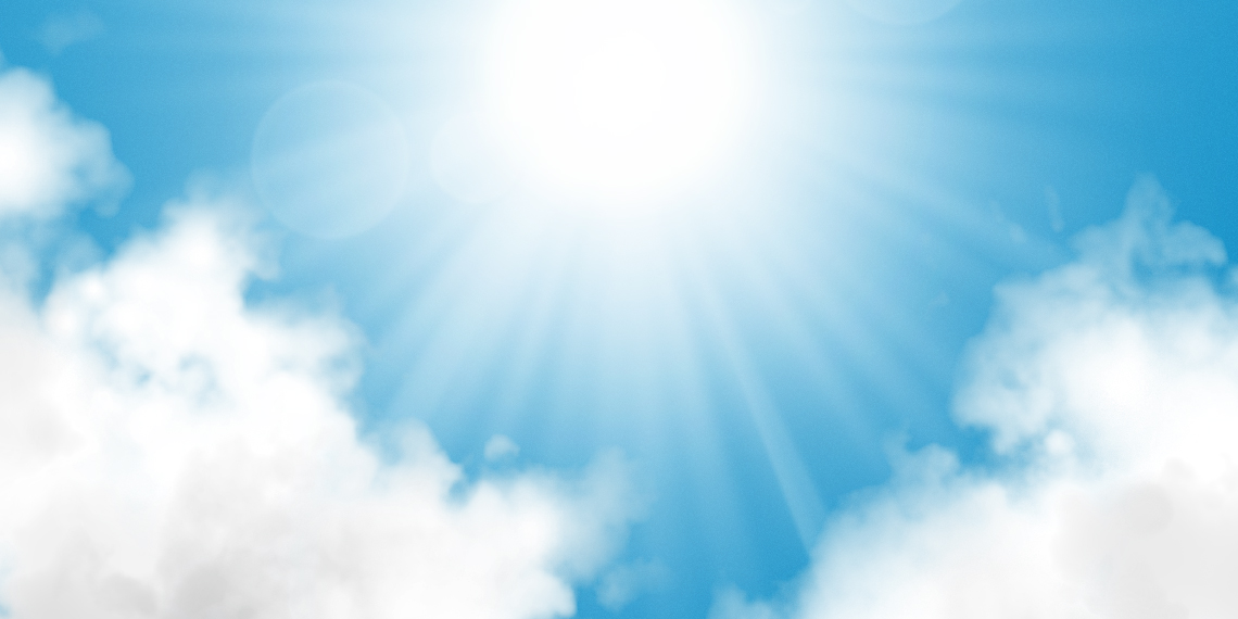 6 Sun Light PSD Images