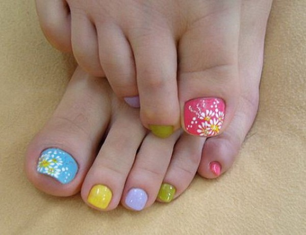Toe Nail Designs and Colors