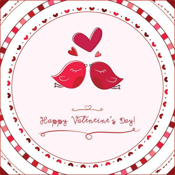 Valentine's Day Love Birds