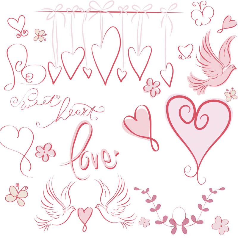 Vector Valentine's Day Designs