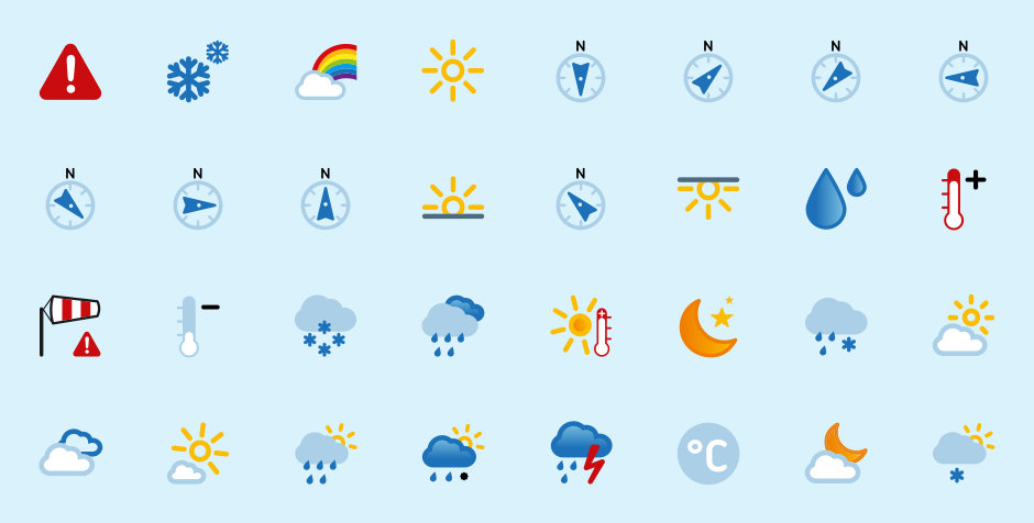 9 IPhone Weather Icons Meaning Images