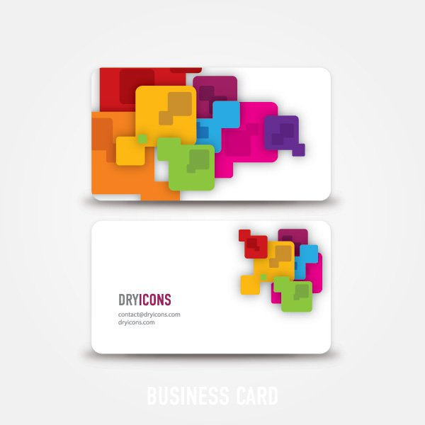 7 Free Business Card Graphics Images