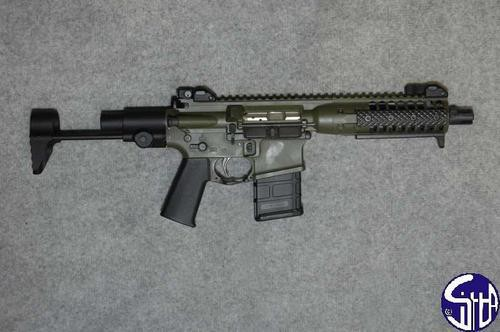 15 LWRC PSD Stock Images