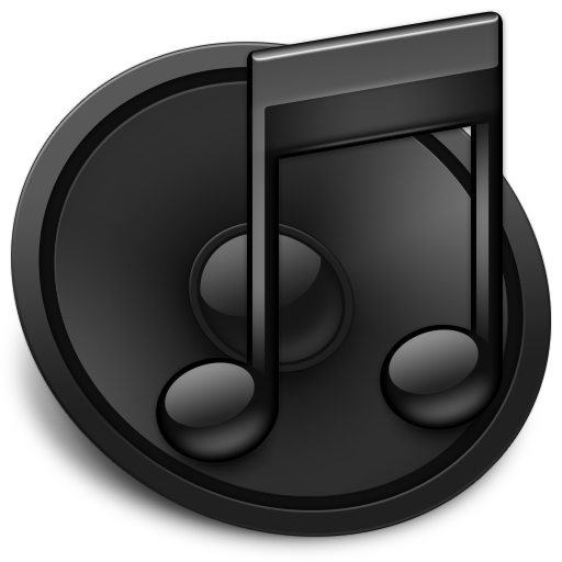 Black iTunes Icon
