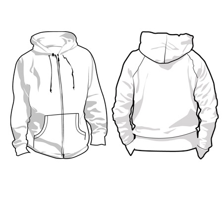 16 Blank Sweatshirt Template Images