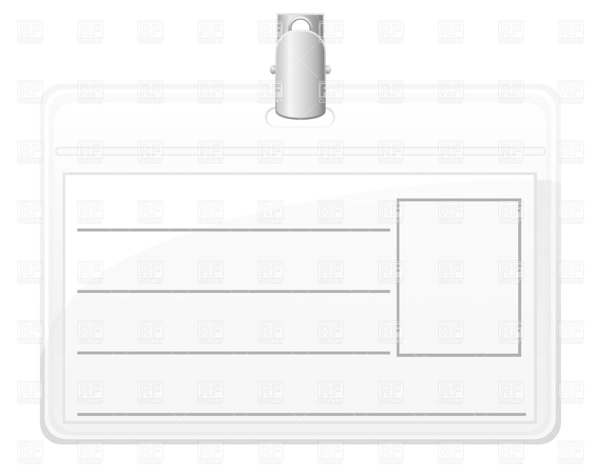 Blank Name Badge Templates