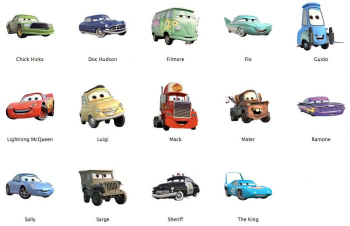 13 Disney Cars Desktop Icons Images