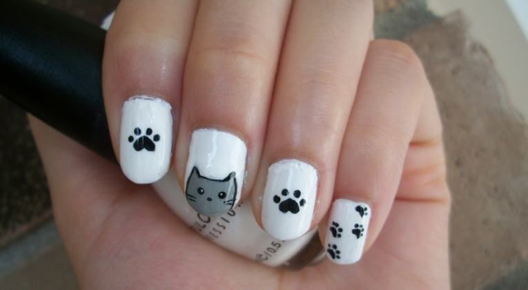 Cat Nail Art Designs