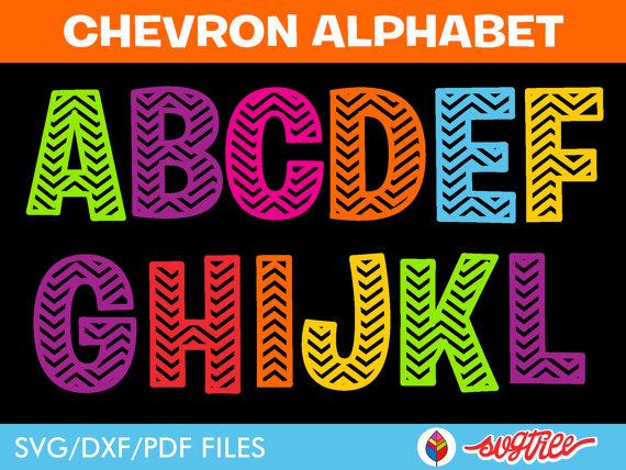14 Art Vector Chevron Letters Images