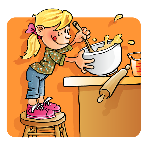 Children Cooking Clip Art Free