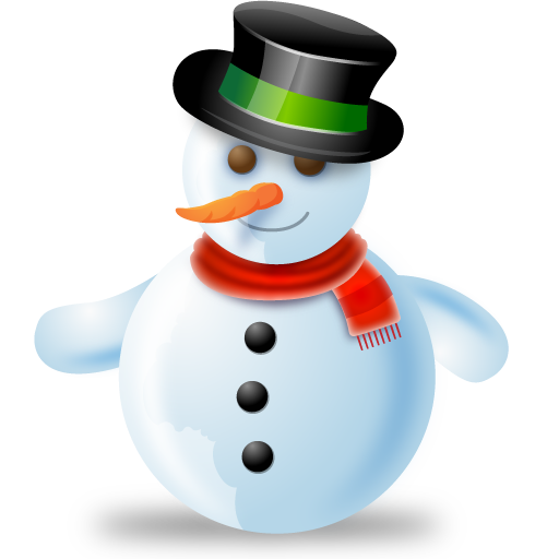 11 Free Christmas Snowman Icons Images