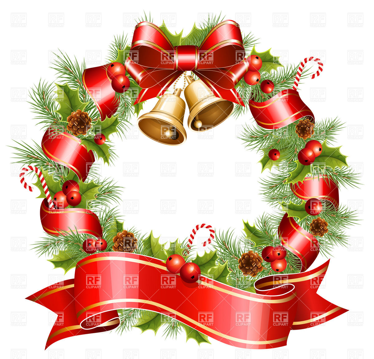 Christmas Wreath Clip Art Free Download