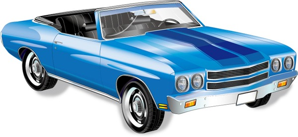 Classic Cars Vector Graphics