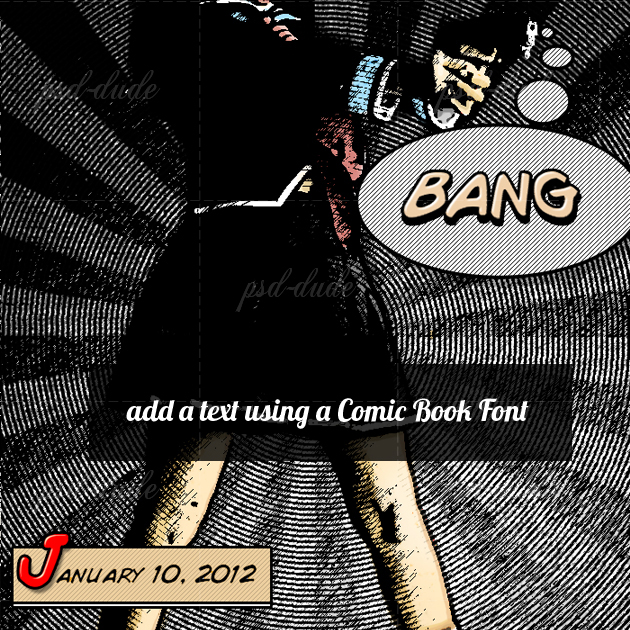 Comic Book Effect Photoshop