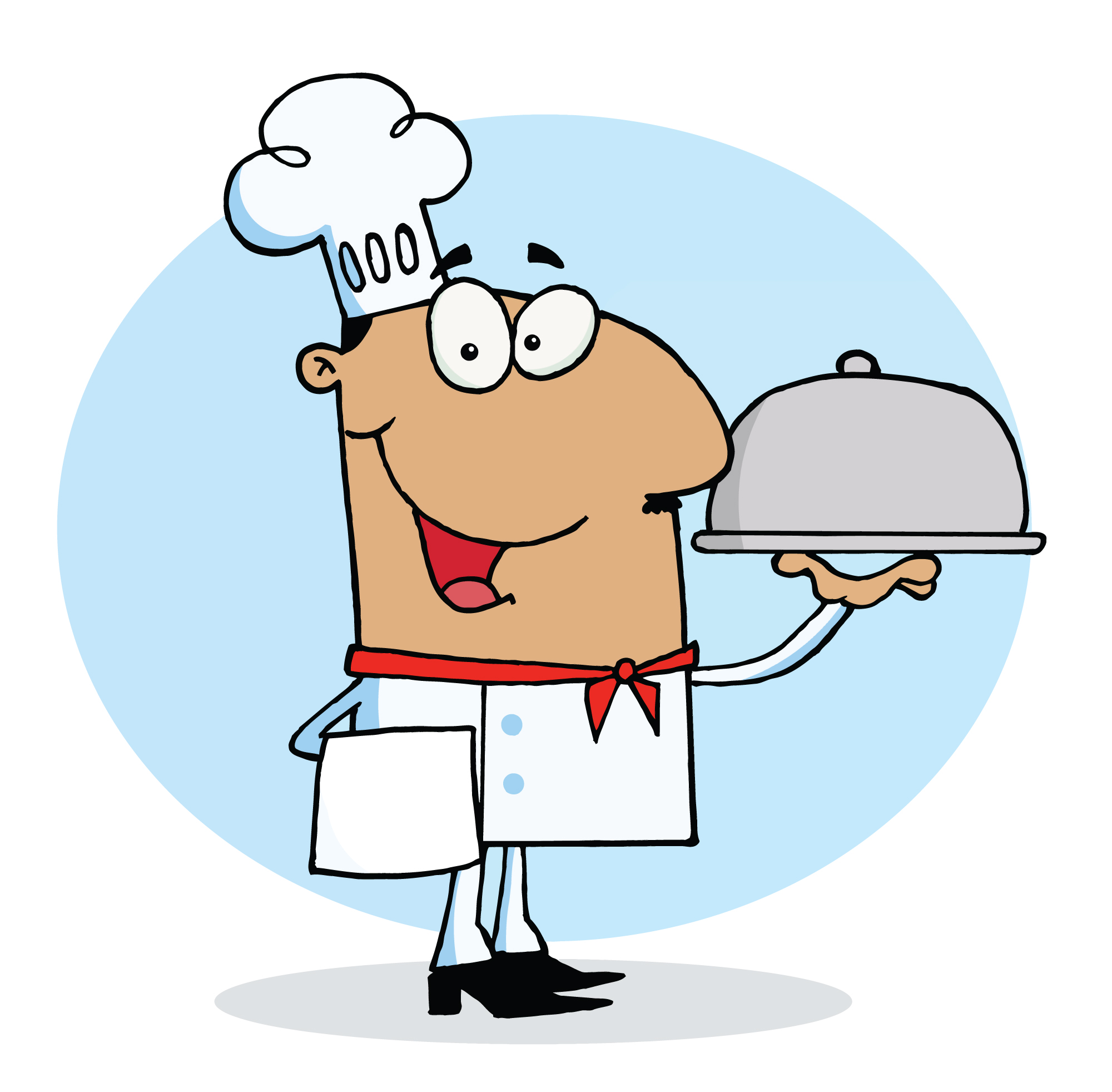 Cooking Chicken Clip Art