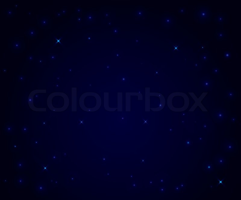 7 Vector Night Sky Stars Images