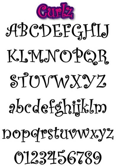8 Different Writing Styles Fonts Images